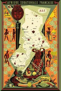 French Equatorial Africa (Afrique Equatoriale Française) - Central Africa by Alain Cornic