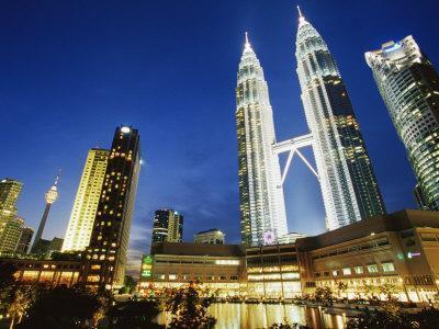 Petronas Twin Towers, Kuala Lumpur, Malaysia, Southeast Asia