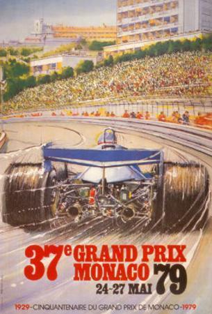 Monaco Grand Prix, 1979 by Alain GIAMPAOLI