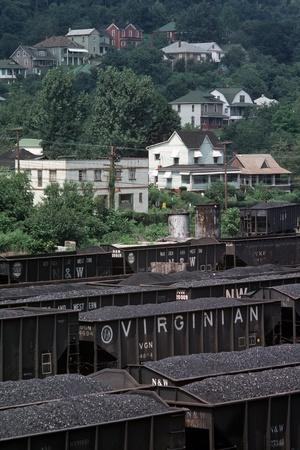 Bluefield, West Virginia Coal, Railway Junction, Usa, 1979