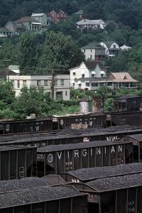 Bluefield, West Virginia Coal, Railway Junction, Usa, 1979 by Alain Le Garsmeur