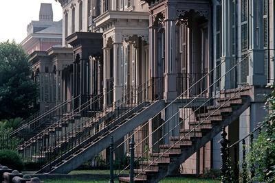 Historic Savannah, Bull Street, Savannah, Georgia, Usa, July 1983