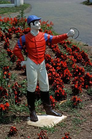 Jockey Horse Hitching Posts, Lexington, Kentucky, Usa, 1984
