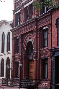 Savannah Cotton Exchange, Historic Savannah, Georgia, Usa, July 1983 by Alain Le Garsmeur