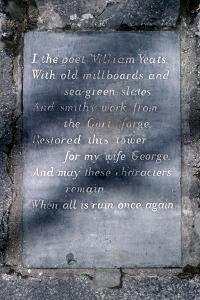 W.B. Yeats, Ireland by Alain Le Garsmeur