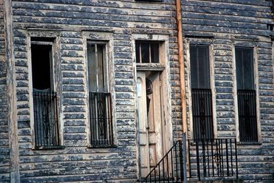 Wooden Clapboard House , Downtown Savannah, Georgia, Usa, July 1983