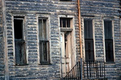 Wooden Clapboard House , Downtown Savannah, Georgia, Usa, July 1983