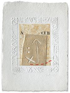 Poème de sable IV by Alain Soucasse
