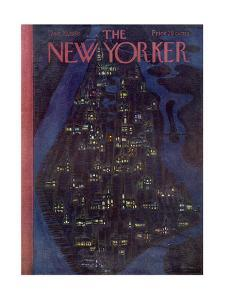 The New Yorker Cover - December 23, 1950 by Alain