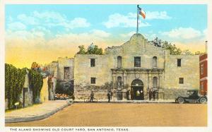Alamo and Courtyard, San Antonio, Texas