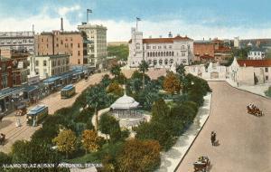 Alamo Plaza, San Antonio, Texas