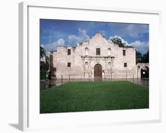 Alamo, San Antonio, Texas-Mark Gibson-Framed Photographic Print