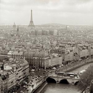 Above Paris #25 by Alan Blaustein