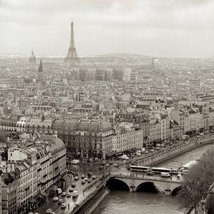 Above Paris #25 by Alan Blaustein