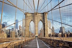 Brooklyn Bridge by Alan Blaustein