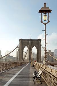 Brooklyn Bridge by Alan Blaustein