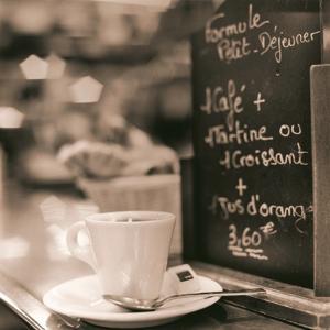 Café, Champs-Élysées by Alan Blaustein