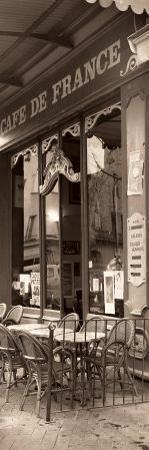 Cafe de France by Alan Blaustein