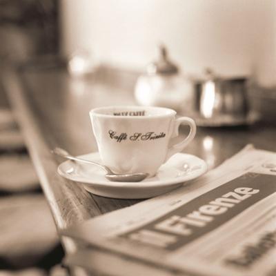Caffè, Firenze by Alan Blaustein