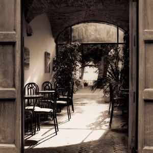 Caffe' Spello by Alan Blaustein