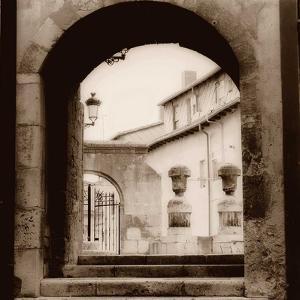 Courtyard in Burgos by Alan Blaustein