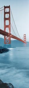 Golden Gate Bridge at Dawn (B) by Alan Blaustein