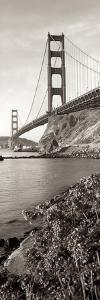 Golden Gate Bridge Pano #1 by Alan Blaustein