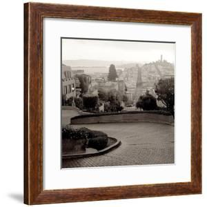 Lombard Street #1 by Alan Blaustein