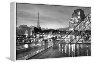 Louvre with Eiffel Tower Vista #2 by Alan Blaustein