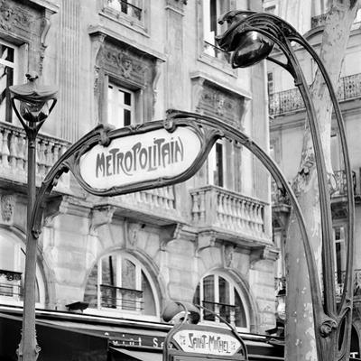 Metropolitain Paris #2 by Alan Blaustein