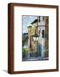 Montalcino Lampione #1 by Alan Blaustein