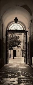 Portico, Espana by Alan Blaustein