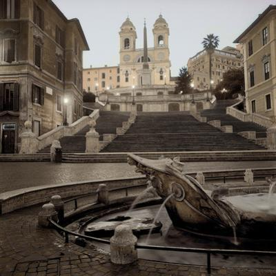 Spanish Steps Rome #1 by Alan Blaustein