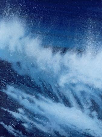 Large Waves Breaking, 1989 by Alan Byrne