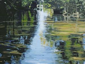 Shimmering River, 2003 by Alan Byrne