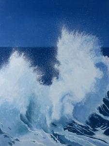 Two Little Waves Breaking, 1989 by Alan Byrne