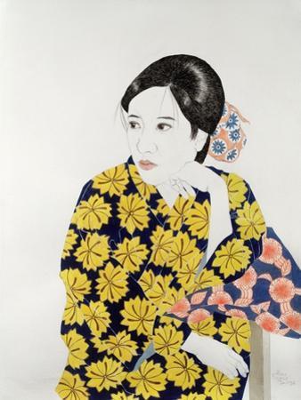Yellow Kimono, 1996 by Alan Byrne