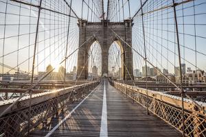 Brooklyn Bridge Sunrise by Alan Copson
