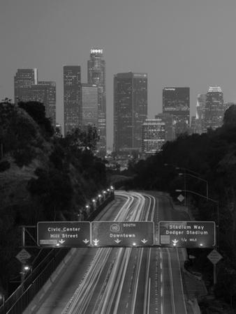 California, Los Angeles, Route 110, USA
