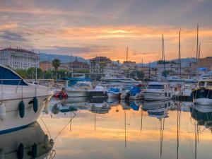Cannes, Old Town Le Suquet, Vieux Port, Provence-Alpes-Cote D'Azur, France by Alan Copson