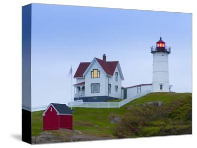 Cape Neddick (The Nubble) Lighthouse, Cape Neddick, Maine, New England, USA, North America