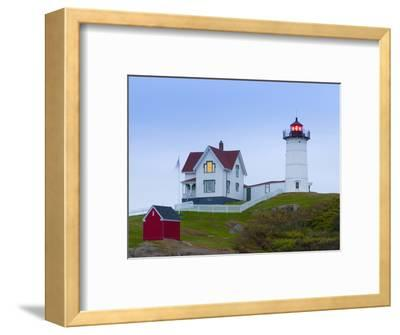 Cape Neddick (The Nubble) Lighthouse, Cape Neddick, Maine, New England, USA, North America