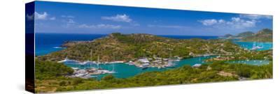 Caribbean, Antigua, English Harbour from Shirley Heights
