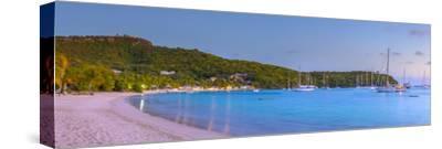 Caribbean, Antigua, Freeman's Bay, Galleon Beach at Dusk