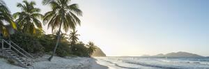 Caribbean, British Virgin Islands, Tortola, Long Bay, Long Bay Beach by Alan Copson