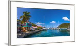 Caribbean, British Virgin Islands, Tortola, Sopers Hole by Alan Copson