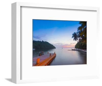 Caribbean, St Lucia, Marigot, Marigot Bay, Marigot Bay Beach Club Hotel
