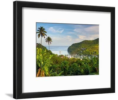 Caribbean, St Lucia, Marigot, Marigot Bay