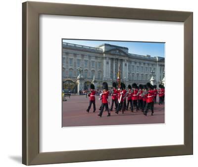 Changing of the Guard, Buckingham Palace, London, England, United Kingdom, Europe
