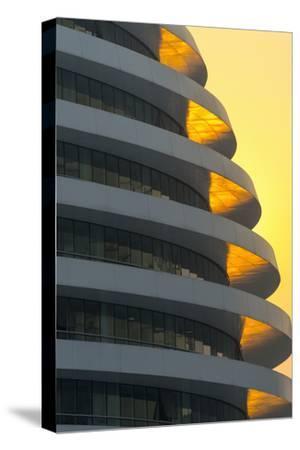 China, Beijing, Chaoyangmen South Street, Galaxy Soho by Architect Zaha Hadid